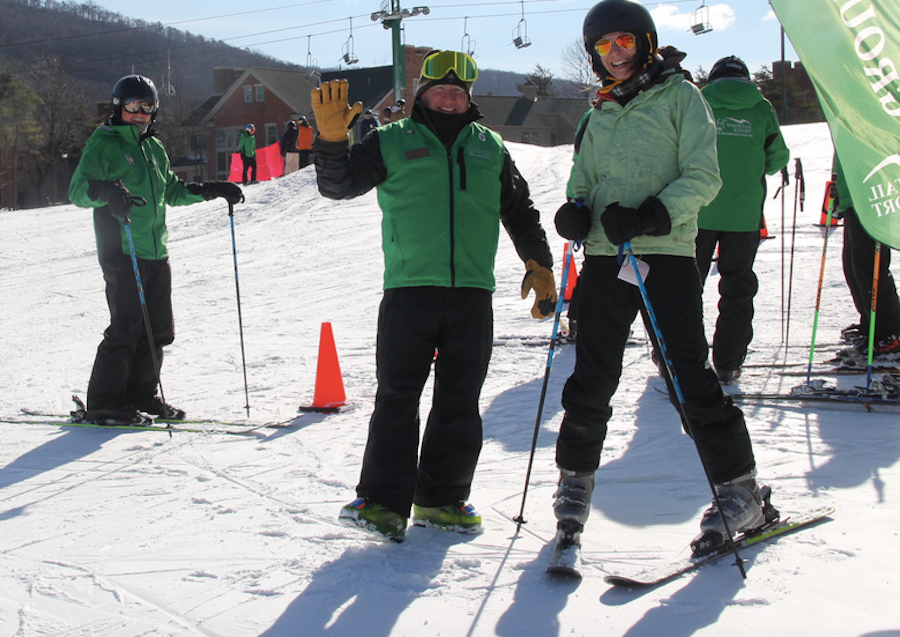 Ski lesson time at Whitetail. (LTSSM/Whitetail/Facebook)