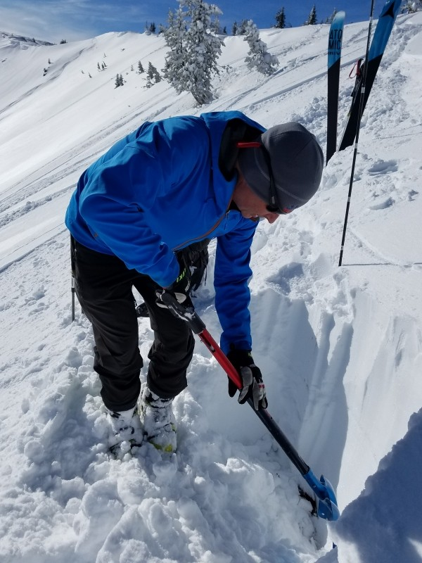 Avalanche awareness in the backcountry is important. (Scott McGee)
