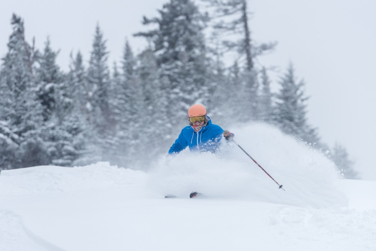 Overnight, Sunday River received 10 inches of new snow, which brings the snowfall total for January 2019 to 5 feet. As you can imagine, conditions are amazing, and this week's snow will set them up for a great Super Bowl weekend on the slopes. (Sunday River)