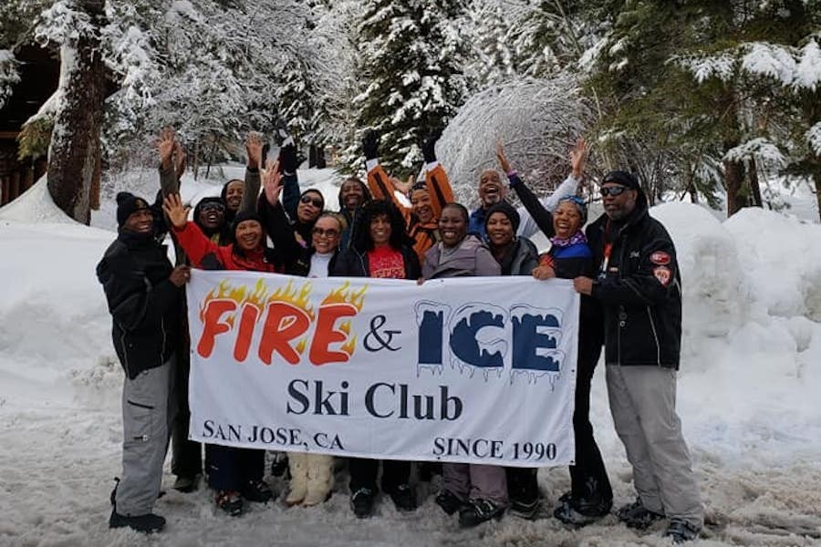 The Fire & Ice Ski Club from California, the NBS Western Region 2018/19 Club of the Year at Sundance Mountain Resort in Utah. (Facebook/Maxine Jensen)