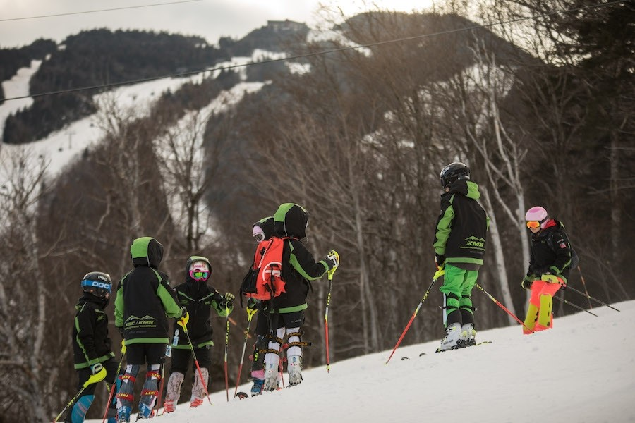 Killington-Mountain-School-slalom-training