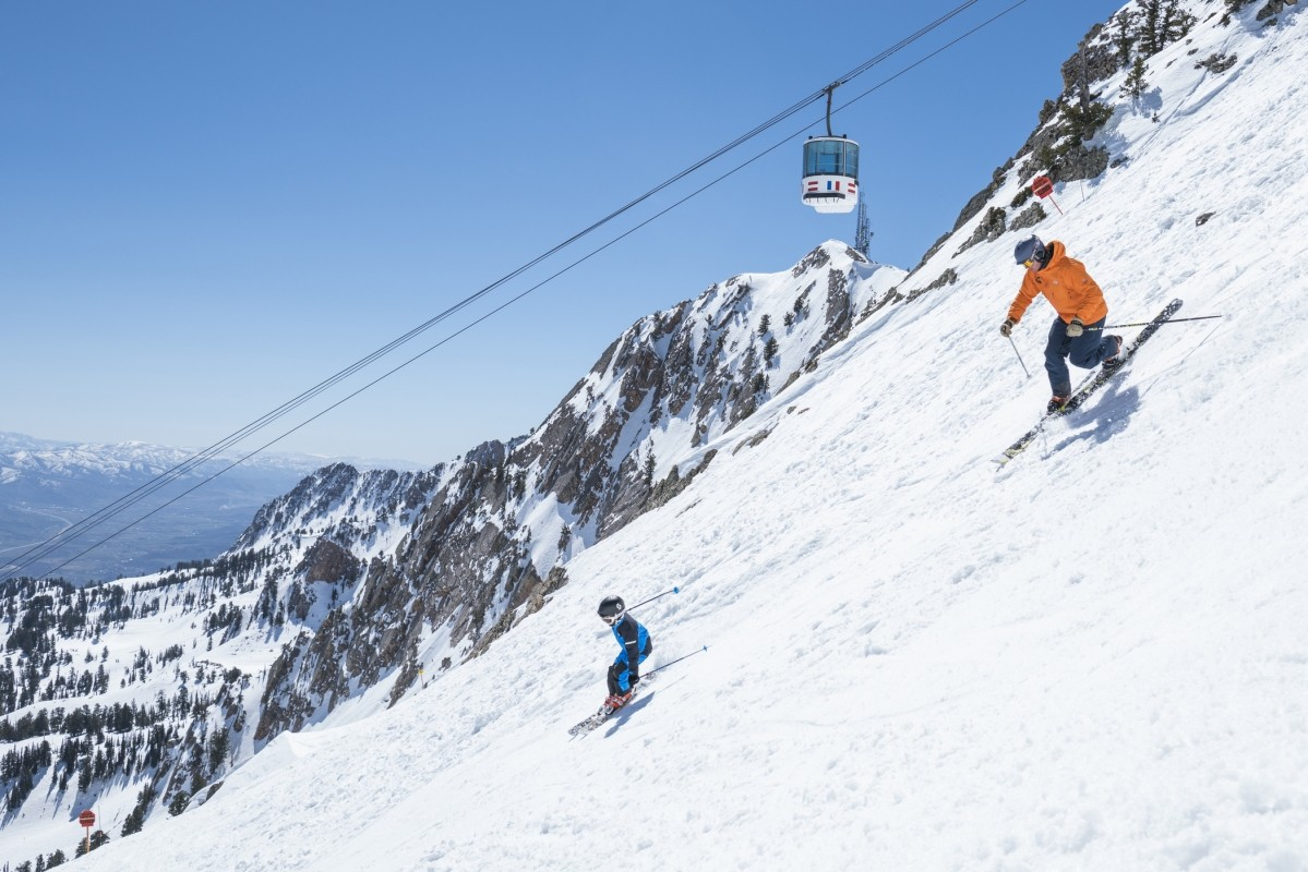 Families like Snowbasin for its variety terrain for all ages and abilities. (Snowbasin)