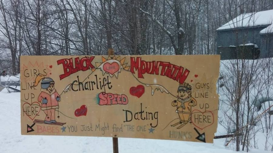 ski lift speed dating