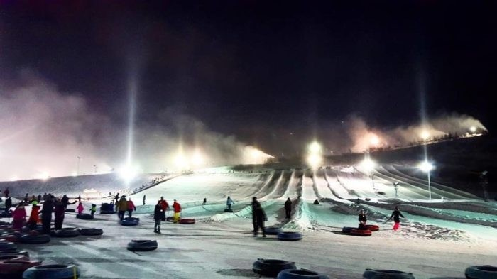 Tubing is popular in the evening at Boston Mills/Brandywine. (Facebook Boston Mills/Brandywine)