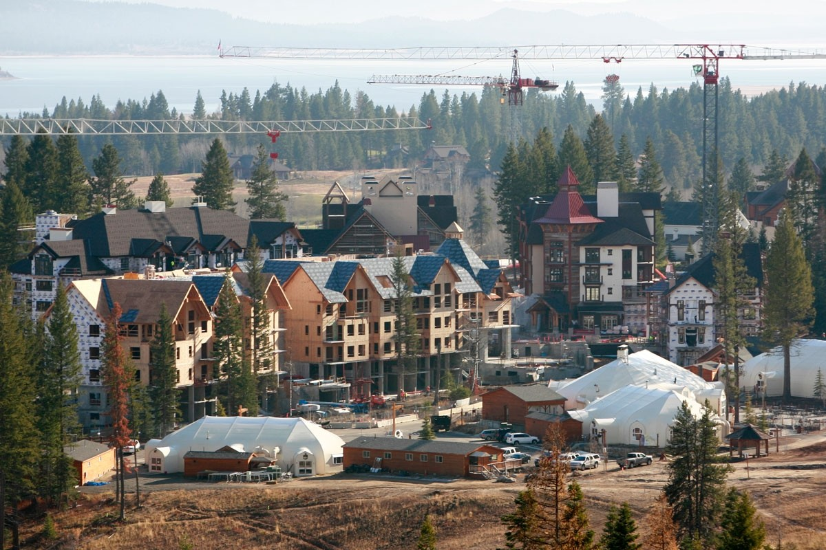 The sounds of construction will echo throughout Tamarack Resort this summer. (Tamarack Resort)