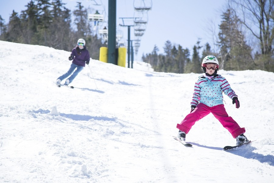Introduce the kids to lifetime love of skiing. (Waterville Valley)