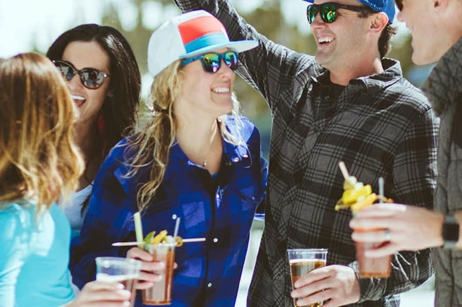 Don't forget your sunglasses for après at Heavenly. (Heavenly)