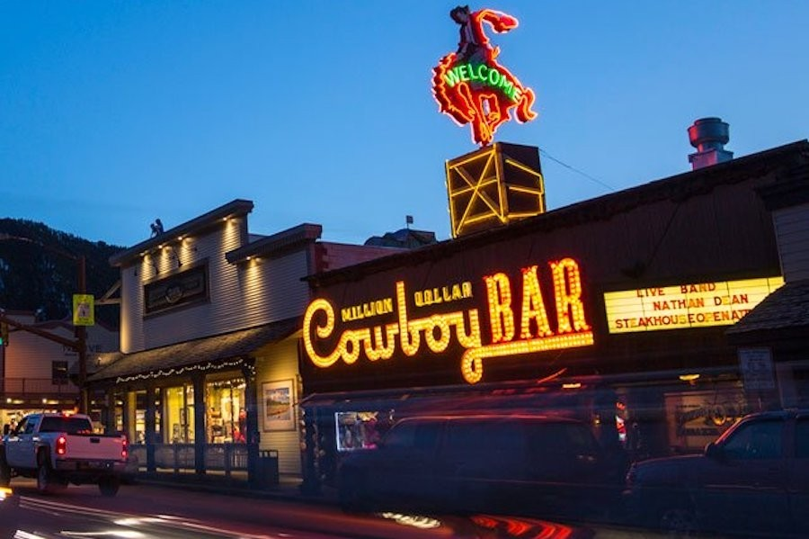 The iconic Million Dollar Cowboy Bar is calling your name. (Jackson Hole Mountain Resort)