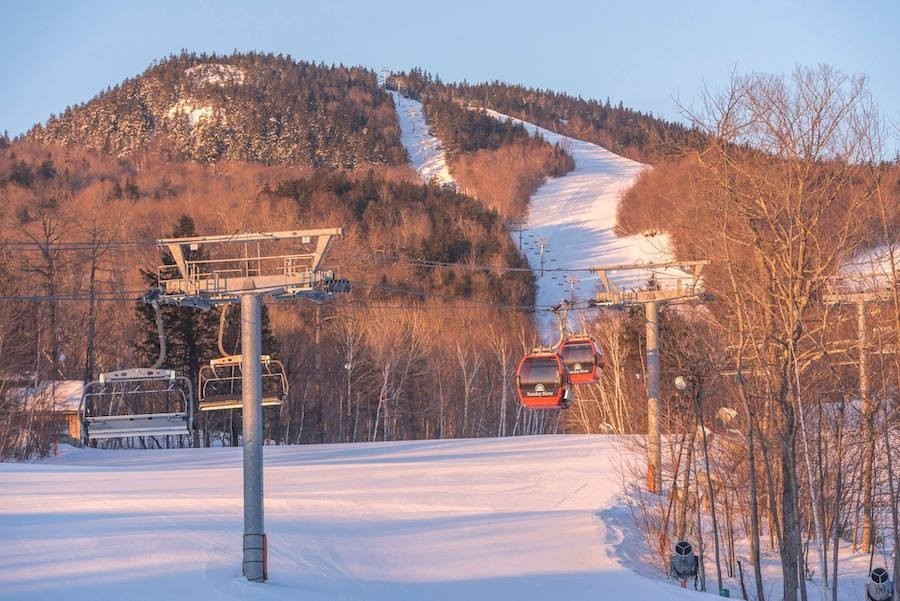 Rise and shine at Sunday River. (Sunday River/Facebook)