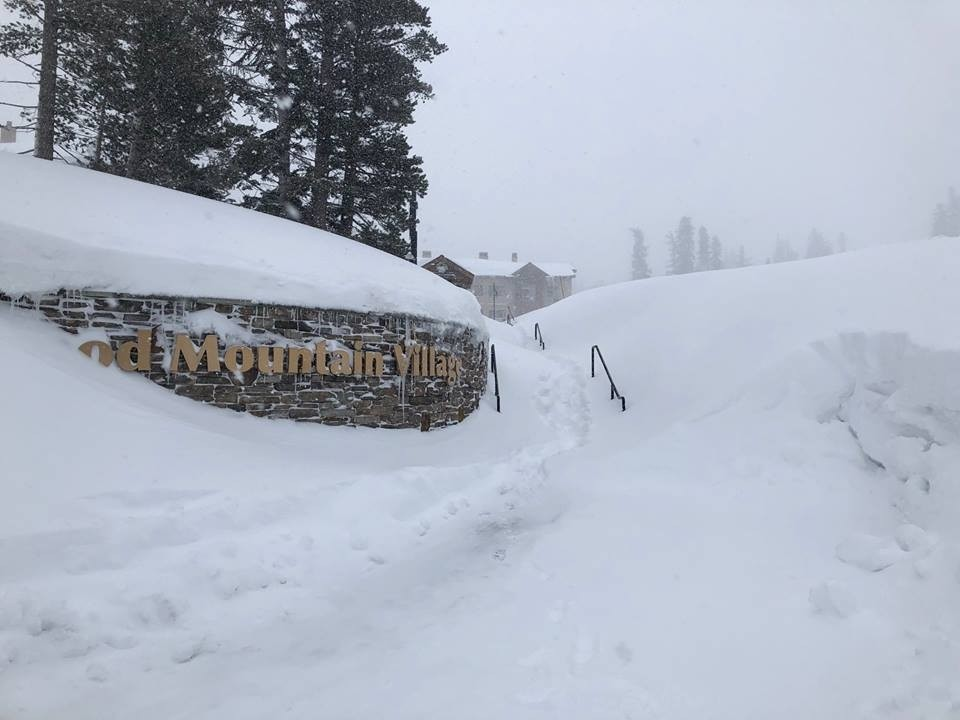 Plows and shovels got extra duty during February at Kirkwood. (Kirkwood/Facebook)
