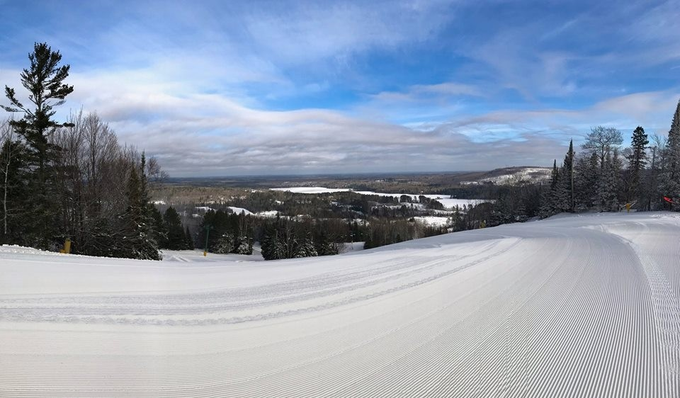 Giants Ridge is perfectly groomed for spring skiing and riding. (Giants Ridge/Facebook)