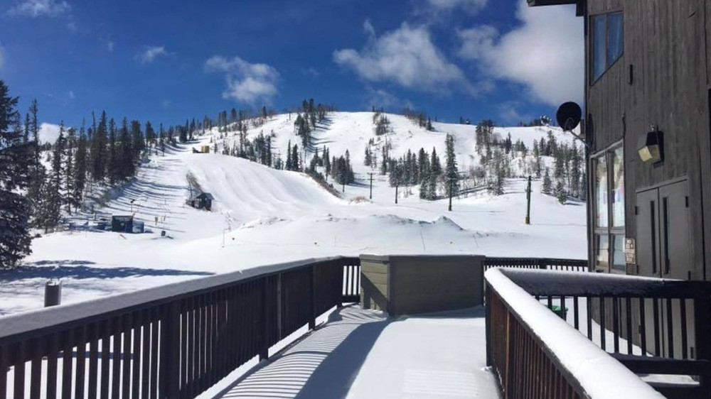 A view of the ski hill from the day lodge. (Mystic Miner/Facebook)