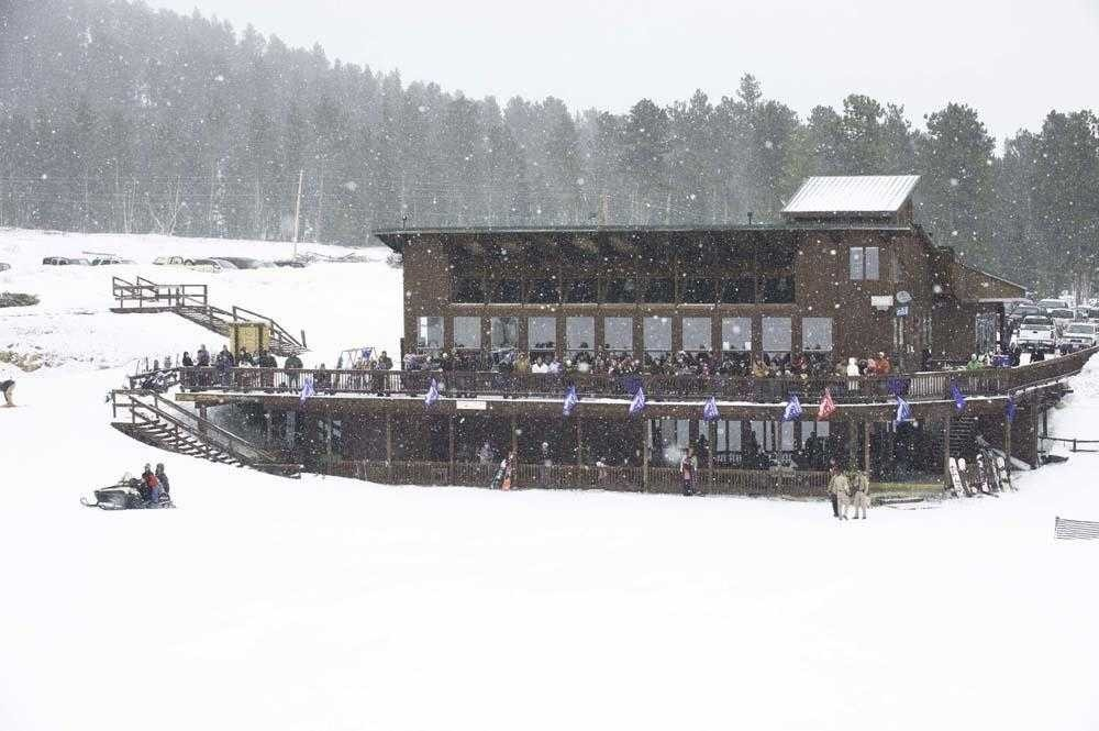 A busy day lodge when the ski area was open a few years ago. (Mystic Miner/Facebook)