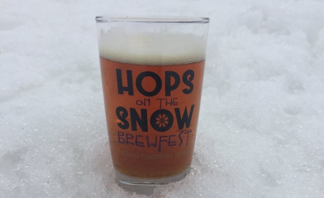 Hops-on-snow