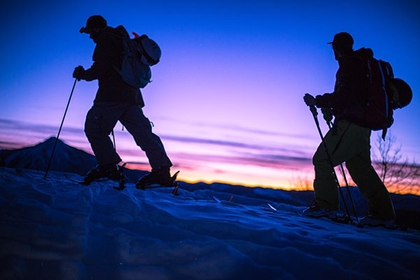 When the sun goes down -- or before it comes up -- that's when the uphillers get up and going. (Colorado Ski Country USA)