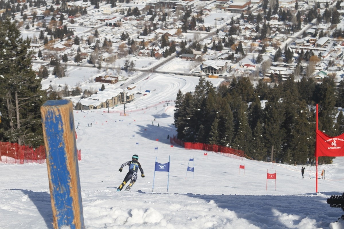 The mountain boasts a strong racing culture, hosting numerous high school and college events. (Leo Wolfson)