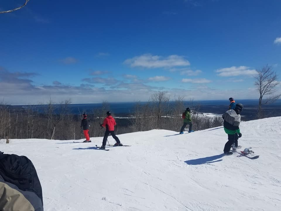 Mount Bohemia plans on skiing and riding into May. They still have a lot of backcountry open. (Mount Bohemia/Facebook)
