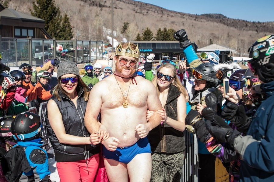 Don't forget the sunscreen. (Killington/Dave Young)