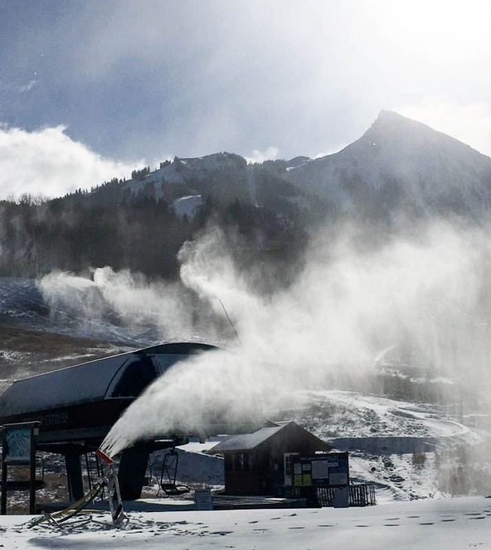 More snowmaking will be an emphasis for Vail Resorts this summer. (Crested Butte/Facebook)
